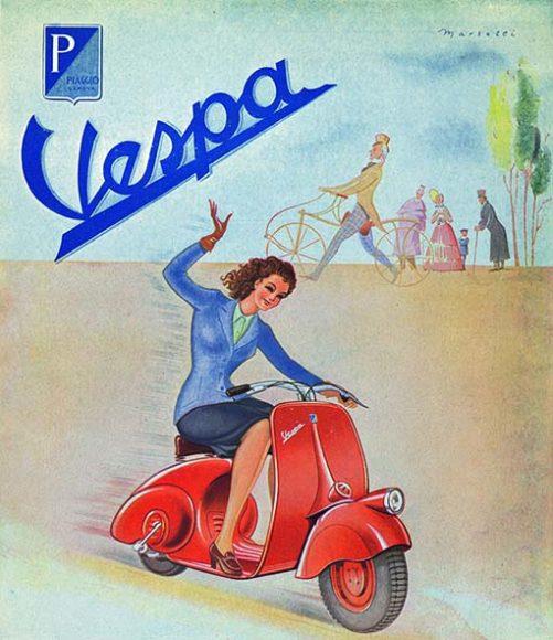050 Depliant Vespa 1946
