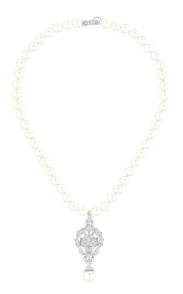 Chanel Collier Lion Perles Collection Haute Joaillerie