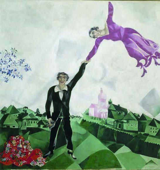 La promenade - Marc Chagall