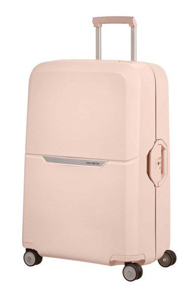 Nouvelle valise Samsung Magnum. Rien de moins que la valise en polypropylène la plus légère de sa catégorie, et ce avec le système de sécurité le plus sûr du marché.