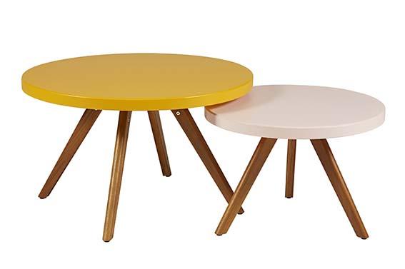 Table Basse K17 Tolix En bois et acier. PPC: 449 €