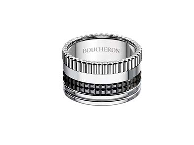 Boucheron Bague Quatre Black Edition Large