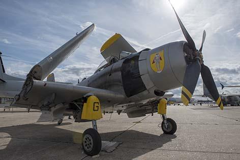 Les avions sur le parking Tango