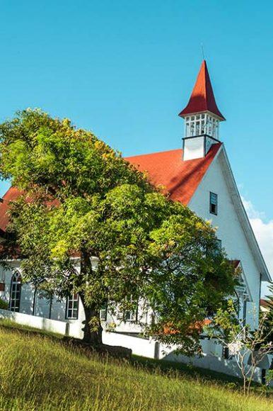 Iglesia bautista, San Andres.©Mario Carvajal
