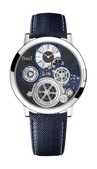 Piaget Altiplano Ultimate Concept Présentée il y a deux ans au SIHH la montre mécanique la plus fine du monde, l'Altiplano Ultimate Concept repousse une nouvelle fois les limites de la micro-ingénierie horlogère en étant désormais proposée à la vente.