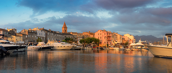 Port de Saint Florent .