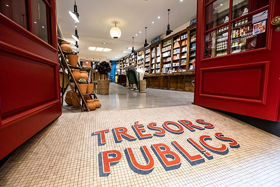 Boutique Trésors Publics.