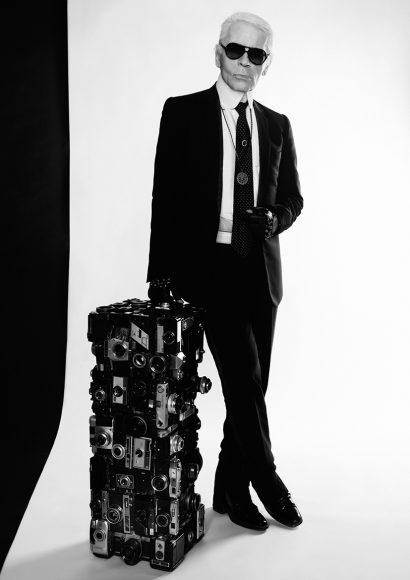 Portrait Karl Lagerfeld